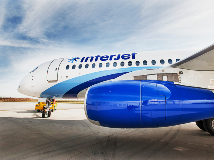 Interjet Plane